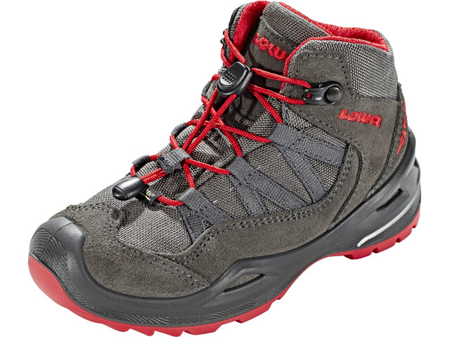 Lowa Robin GTX QC Chaussures Enfant, anthracite/red